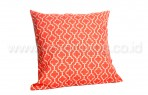 Bantal Sofa Decoration Motif Art in Orange Q2892
